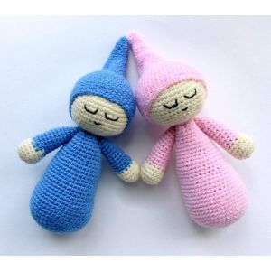 "Crochet doll ""Sleepy"""