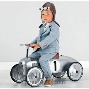 "Cute baby boy clothes ""Racer"""