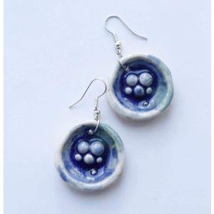 "Cute earrings ""Sea bed"""