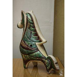 "Decorative ceramic horse ""Sharp mane"""