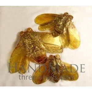 "Decorative glass flies ""Golden age"""