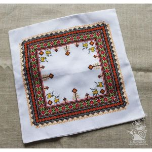 "Decorative pillow cover ""Embroidery"""