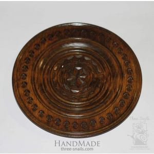 "Decorative plate ""Evening sun"""