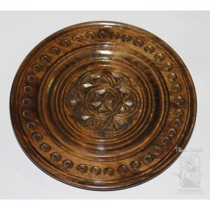 "Decorative plate ""Petunias"""
