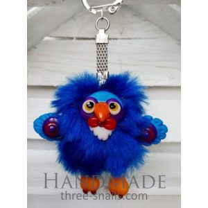 "Designer keyrings ""Bird"""