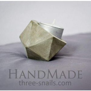 """Diy candle holders""""Geometry of time"""""""