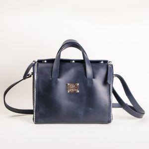 Leather mini handbag organizer