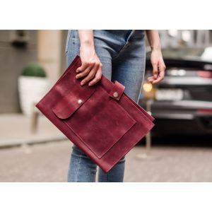 Claret document case