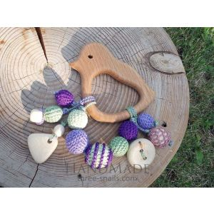 "Eco teether ""Bird"""