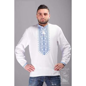 "Embroidered shirt ""Carpathian Rhythms"""