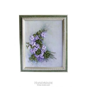 "Embroidery flowers picture ""Lilac"""