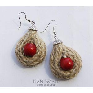 """Ethnic earrings """"Berry Drop"""""""