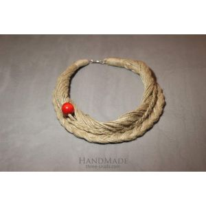 "Ethno Style Necklace Design ""Plait"""