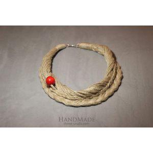 "Ethno Style Necklace Design ""Plait"""