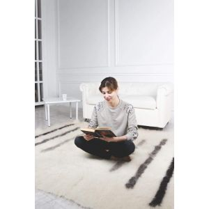 """Exclusive handcrafted wool rug """"Piano"""""""