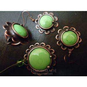 """Fashion jewelry set """"Mint"""""""