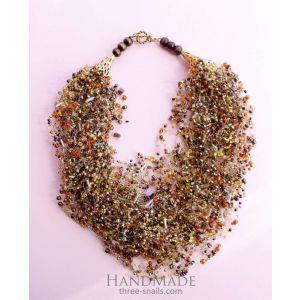 "Fashion jewelry sets ""Gold of autumn"""