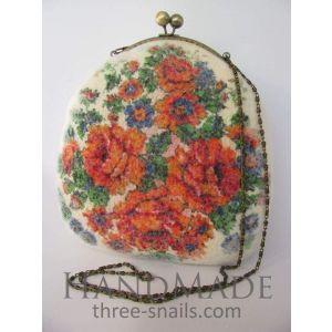 """Felt bag """"Bloom in may"""""""