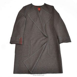 "Felted wool coat ""City charm"""