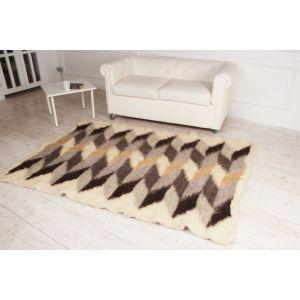 """Designer home rug """"Deep brown"""""""