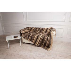 "Wool handmade blanket ""Escape"""