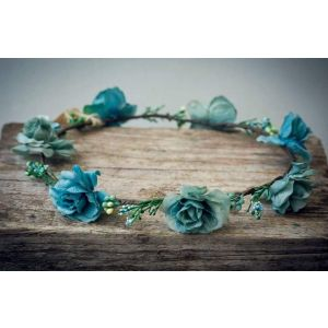 "Flower circlet ""Marine flower"""