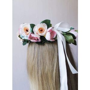 "Flower crown headband ""Rose mix"""