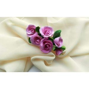 "Flower girl hair accessories ""Rose branch"""