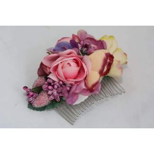 "Flower hair slide ""Spring Victoria"""