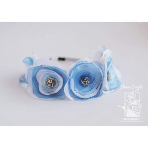 "Flower headband ""Satin flower"""