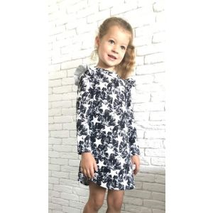 Girls dress with stars