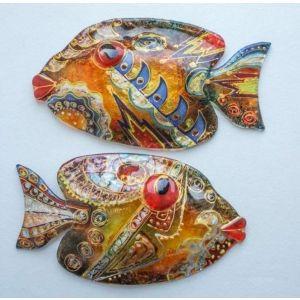 "Glass fish ""Magic"""
