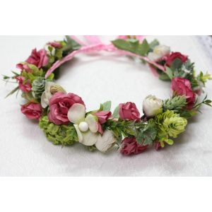 """Green floral wreath """"Green day"""""""