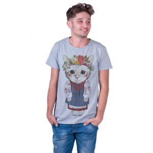 Grey Man T-shirt «Kitten»