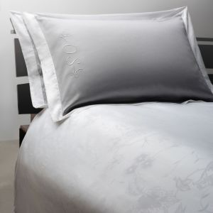 "Grey bed linen set ""Mirage"""