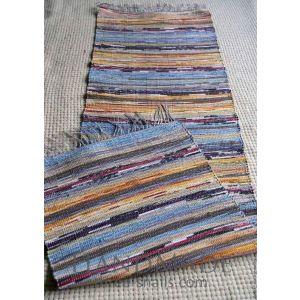 Hand woven runner rug