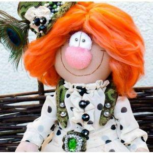 """Handmade art dolls. Author doll """"Mademoiselle Jeannette"""""""