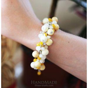"Handmade Beaded Bracelet ""Joy"""
