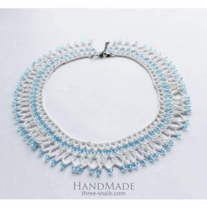 "Handmade beaded necklace ""Renaissance"""