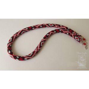 """Handmade beaded necklace """"Vyshyvanka"""""""