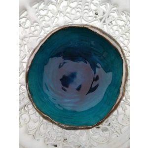 "Handmade ceramic bowls ""Turquoise"""