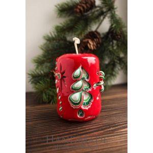 """Handmade Christmas candle """"Charming Christmas"""""""