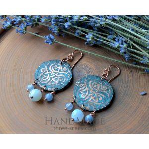 Handmade Cooper Earrings