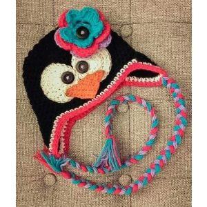 """Handmade crochet hat """"Penguin"""""""