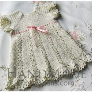 "Handmade crocheted dress ""Tenderness"""