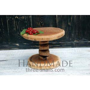 "Handmade cupcake stand ""Oak Grove"""