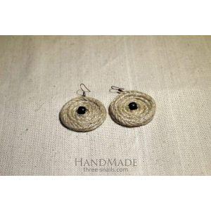 """Handmade earrings """"Coffee"""""""