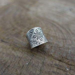 Handmade Mandala ring