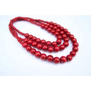 "Handmade necklace ""Ash berry"""