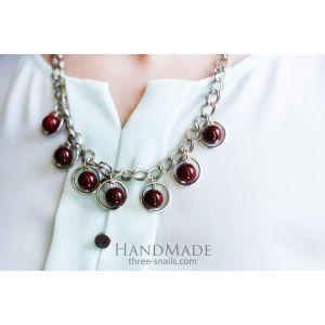 "Handmade necklace ""Darsy"""